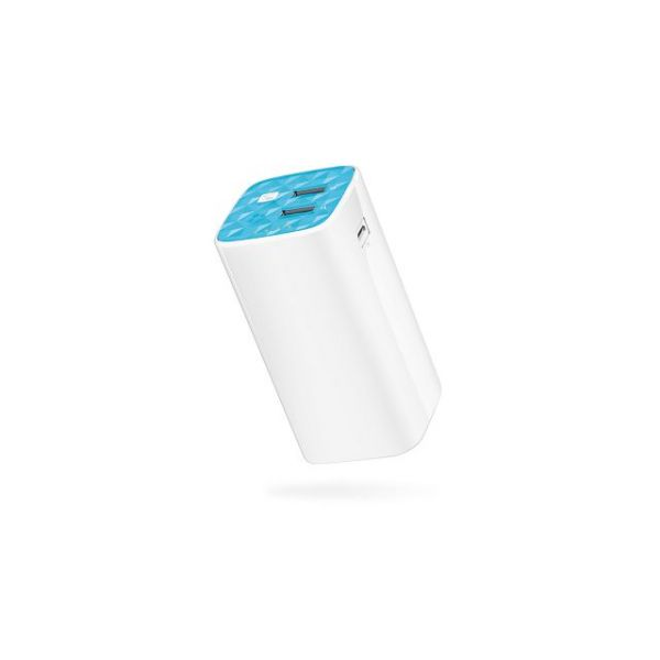 TP-LINK TL-PB10400 10400mAh Power Bank, 2 USB ports(5V/1A, 5V/2A), 1 Micro USB port, Built-in flashlight, with Micro USB Cable