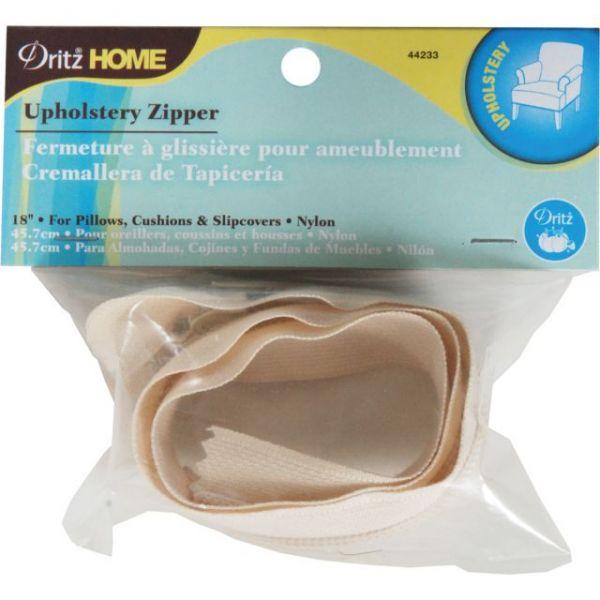 """Nylon Upholstery Zipper 18"""""""
