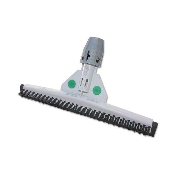 """Unger SmartFit Sanitary Brush, 18"""", Black/White"""