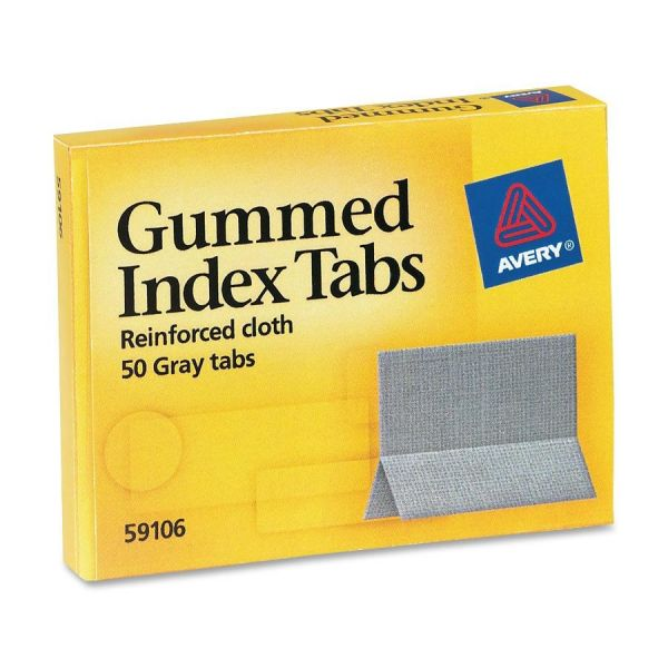 Avery Gummed Index Tabs
