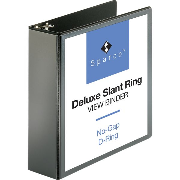 """Sparco Deluxe 3"""" 3-Ring View Binder"""