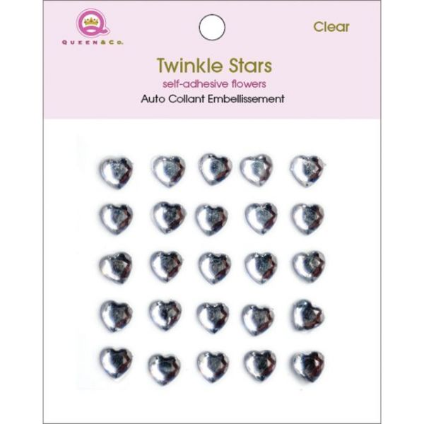 Twinkle Gems Self-Adhesive Stones 8mm 25/Pkg
