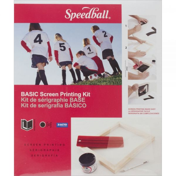 Speedball Stencil Printing Kit