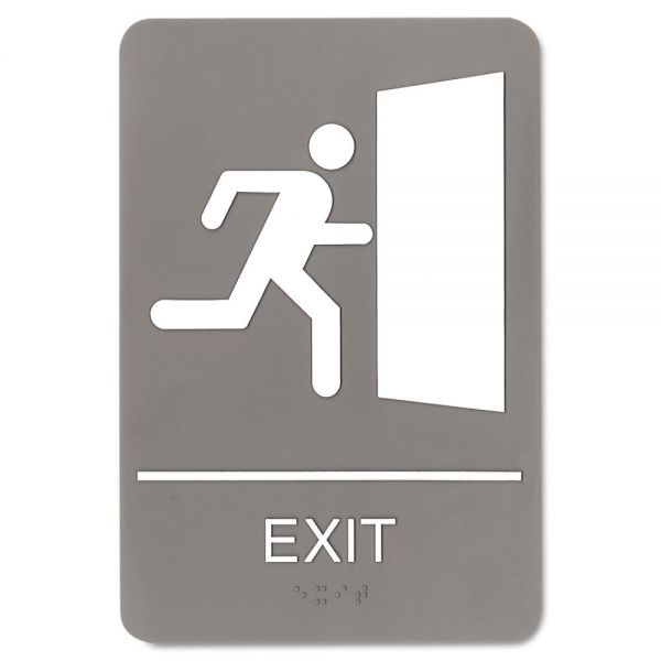 "Headline Sign ""Exit"" Sign"