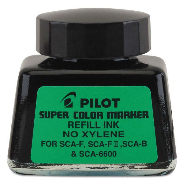 Pilot Jumbo Marker Refill Ink, For Permanent Markers, 1 oz Ink Bottle, Black