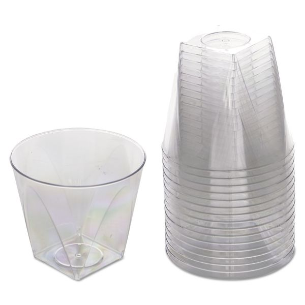 WNA Milan 9 oz Plastic Tumblers