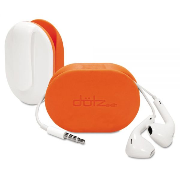 Dotz Flex Earbud Wrap, Orange