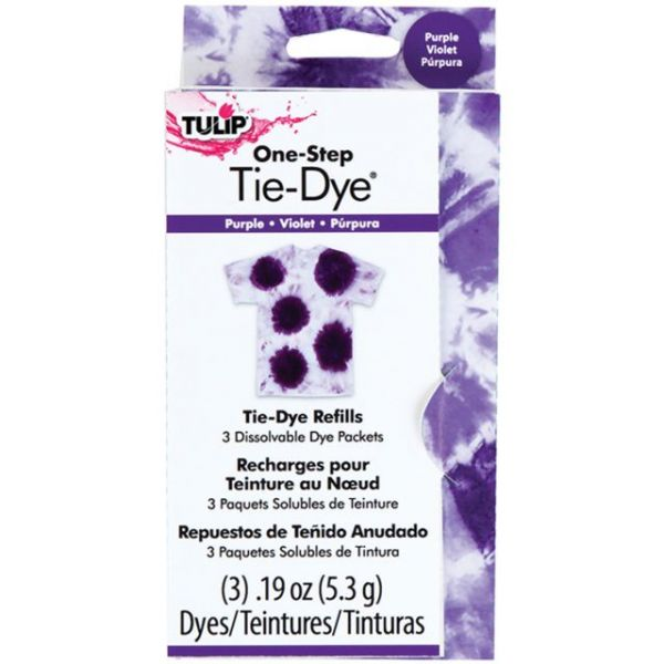 Tulip One-Step Tie-Dye Refill .13oz 3/Pkg