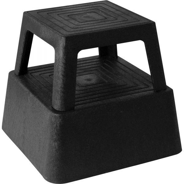 Genuine Joe 2-Step Plastic Step Stool