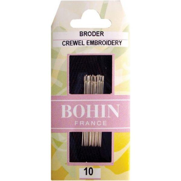 Bohin Crewel-Embroidery Needles