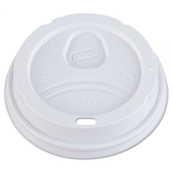 Dixie Dome Drink-Thru Coffee Cup Lids