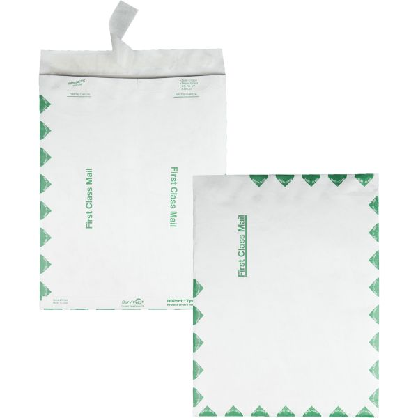 "Quality Park 10"" x 13"" First Class Tyvek Envelopes"