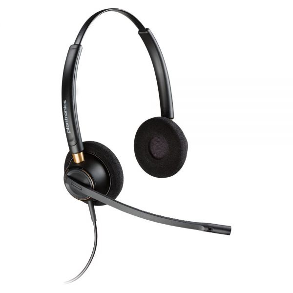 Plantronics Over-the-head Binaural Corded Headset