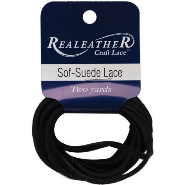 """Sof-Suede Lace .094""""X2yd Packaged"""