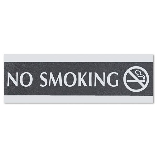 "U.S. Stamp & Sign ""No Smoking"" Sign"