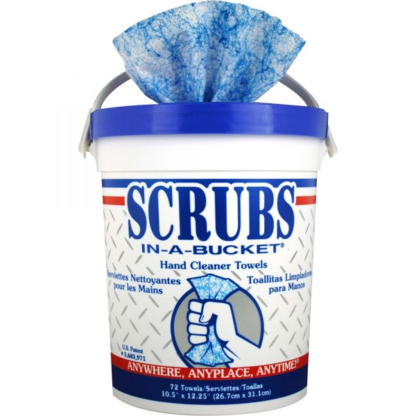 SCRUBS In-A-Bucket Hand Cleaner Towels