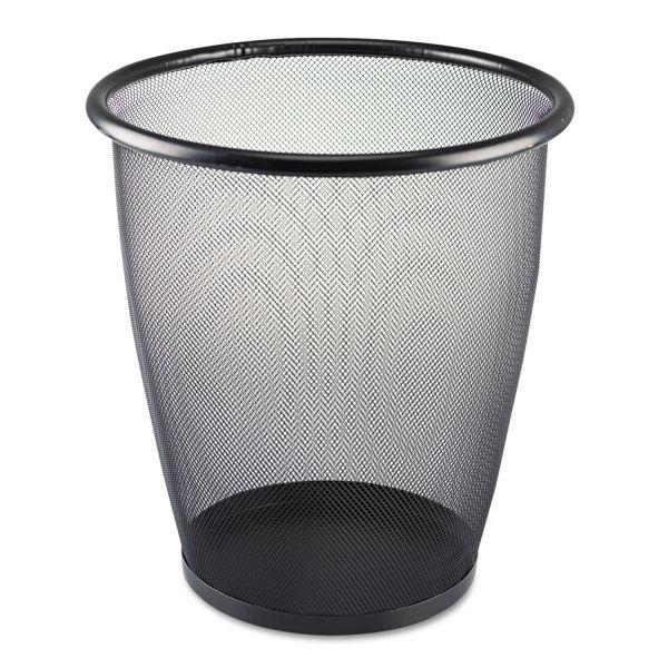 Safco 5 Gallon Mesh Trash Can