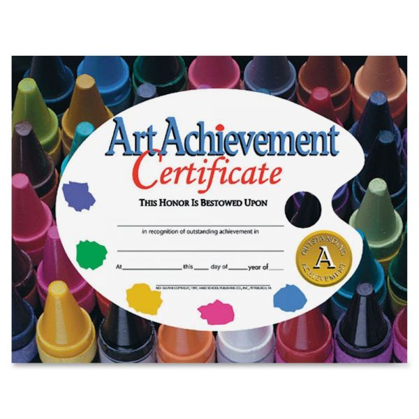 Flipside Art Achievement Certificates