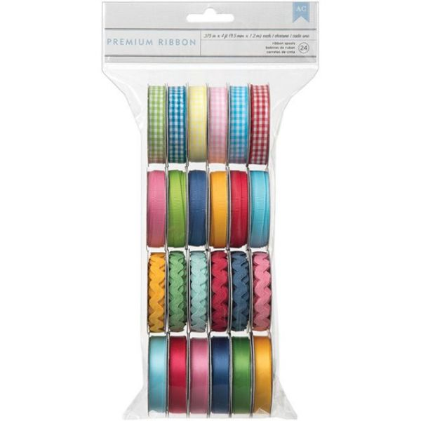 Mayberry Value Pack Premium Ribbon 24/Spools