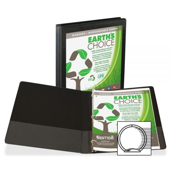 "Samsill Earth's Choice 1/2"" 3-Ring View Binder"