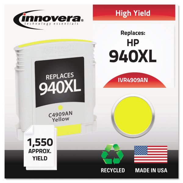 Innovera Remanufactured HP 940XL High Yield Ink Cartridge