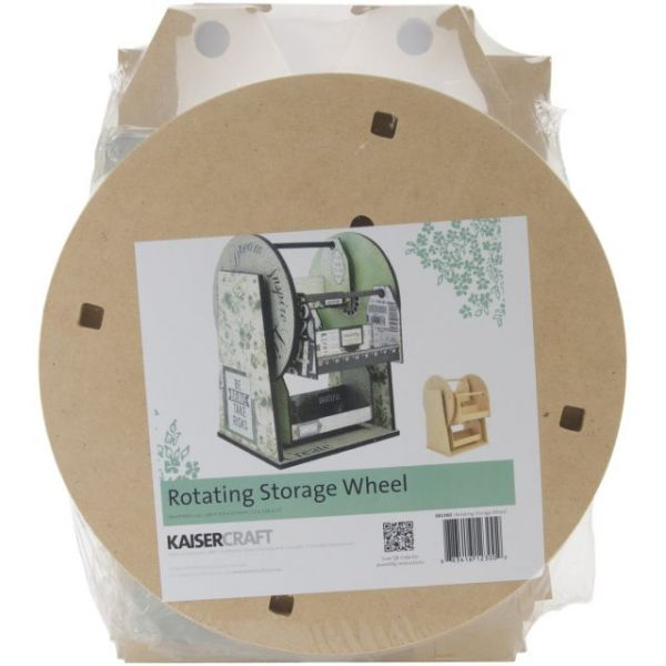 Beyond The Page MDF Rotating Storage Wheel