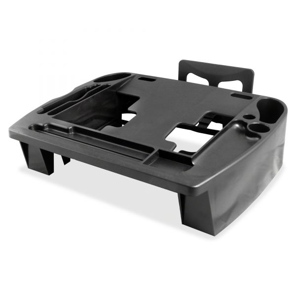 Kantek Phone Central Desk Stand And Organizer, 14 1/4w x 11 3/4d x 3 1/2h, Black