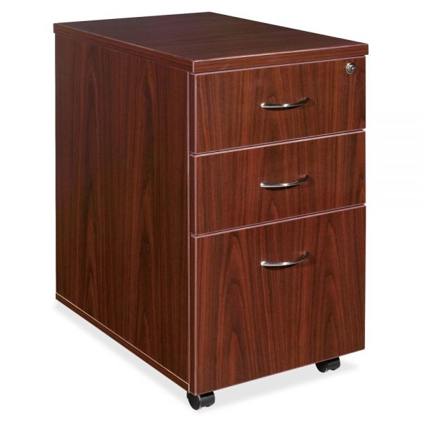Lorell Essentials 3-Drawer Mobile File Cabinet
