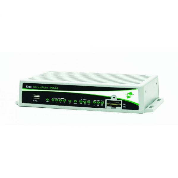 Digi TransPort WR44 R IEEE 802.11n Cellular Modem/Wireless Router
