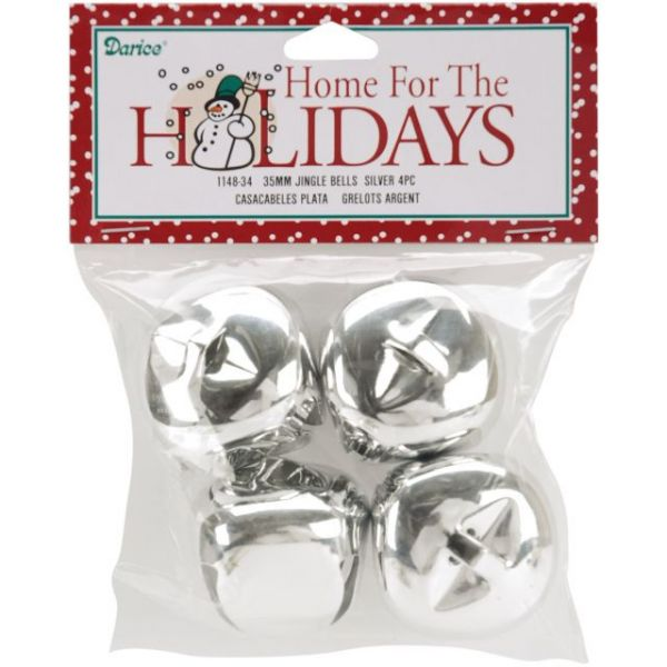"Jingle Bells 1.375"" 4/Pkg"