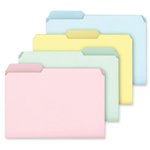 Ampad Pastel Colored File Folders
