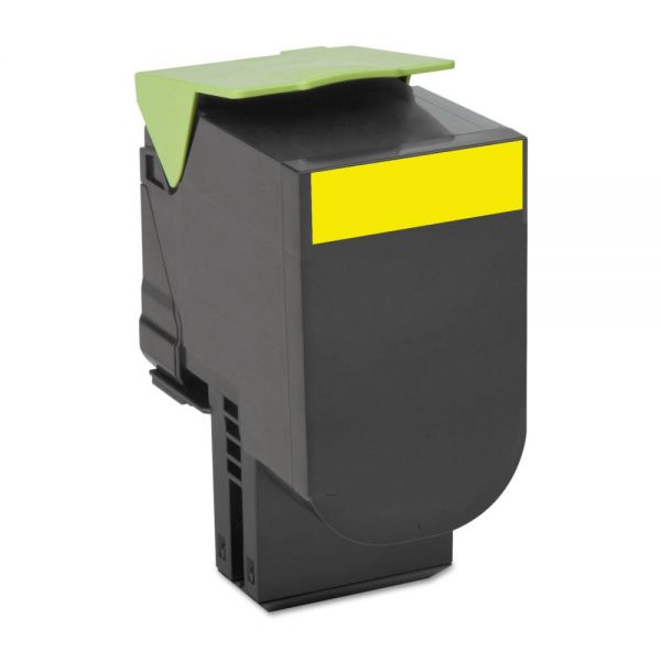 Lexmark 70C1HYO High-Yield Toner, 3000 Page-Yield, Yellow