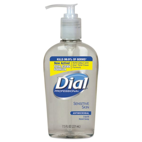 Dial Liquid Antimicrobial Hand Soap for Sensitive Skin