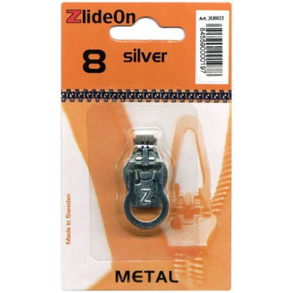 ZlideOn Zipper Pull Replacements Metal 8