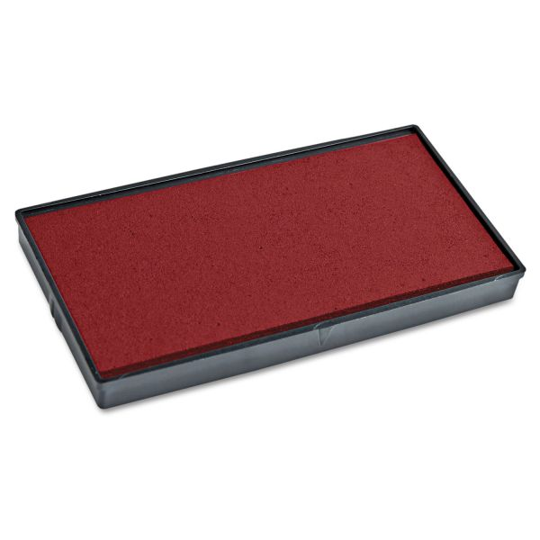 COSCO 2000PLUS Replacement Ink Pad for 2000PLUS 1SI15P, Red