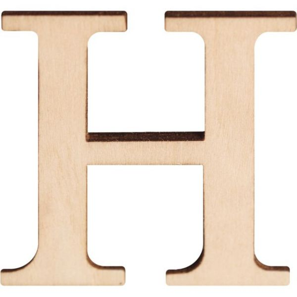 "Wood Letters & Numbers 1.5"" 2/Pkg"