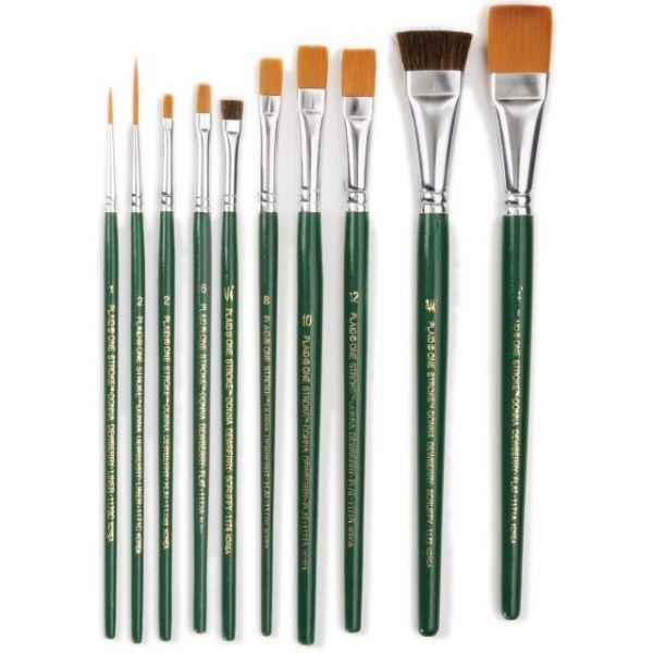 One Stroke Brush Set