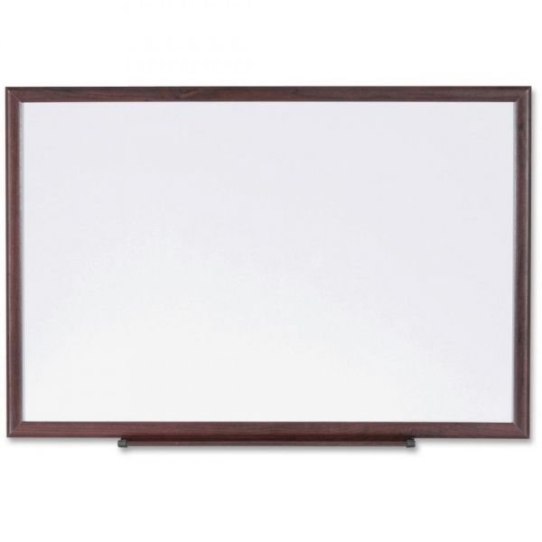 Lorell Wood Frame 8' x 4' Dry Erase Boards