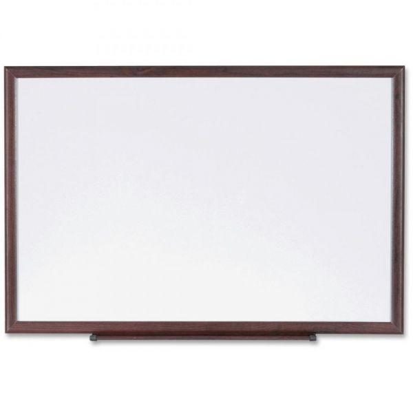 Lorell Wood Frame 3' x 2' Dry Erase Board