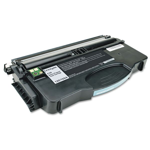 Lexmark 12015SA Black Return Program Toner Cartridge