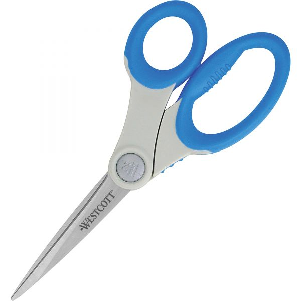 "Westcott 8"" Straight Microban Scissors"