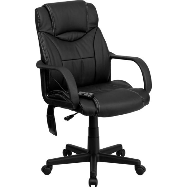 Flash Furniture High Back Massaging Executive Swivel Office Chair