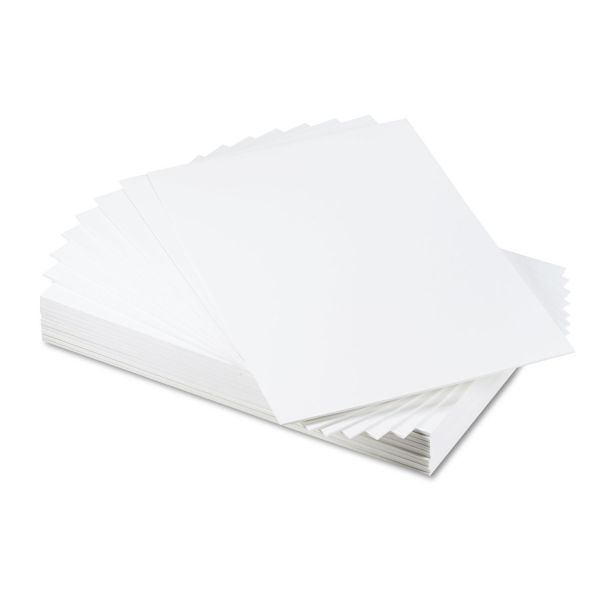 Elmer's CFC-Free Polystyrene Foam Board, 20 x 30, White Surface and Core, 25/Carton