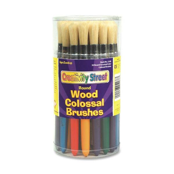 Creativity Street Round Colossal Brushes