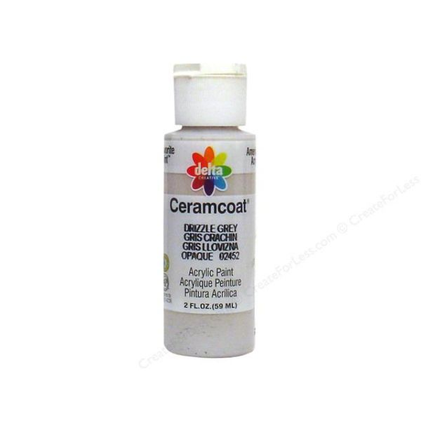 Ceramcoat Drizzle Grey Acrylic Paint