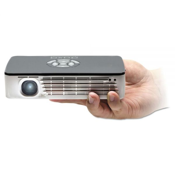 AAXA P700 HD LED Pico Multimedia Projector, 650 Lumens, 1280 x 800 Pixels