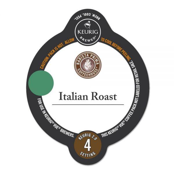 Barista Prima Coffee House Italian Roast Coffee Vue Pack