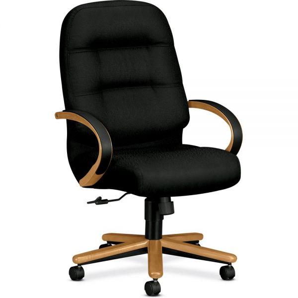 HON Pillow-Soft Executive High-Back Chair | Center-Tilt