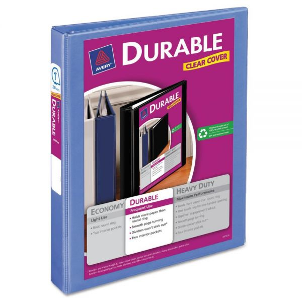 "Avery Durable 1"" 3-Ring View Binder"