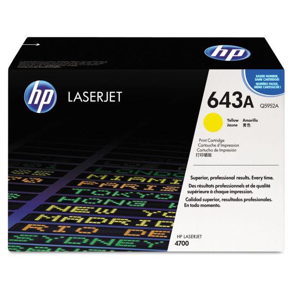 HP 643A Yellow Toner Cartridge (Q5952A)